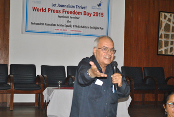 Celebration of World Press Freedom Day-2015