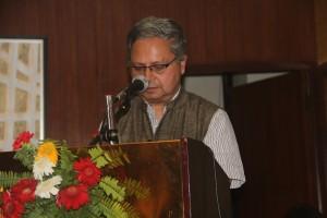 02 NHRC Chairperson Anup Raj Sharma addressing the national seminar