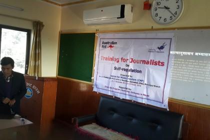 Krishna Saru Magar-Status of Self-regulation in Makwanpur Media