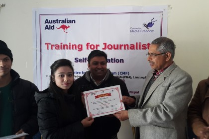 Training for Journalists on Self-regulation