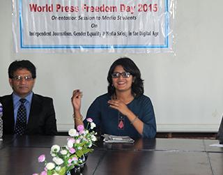 Celebration of World Press Freedom Day-2015 in Kathmandu