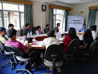 Journalists Training on Anti-corruption Reporting