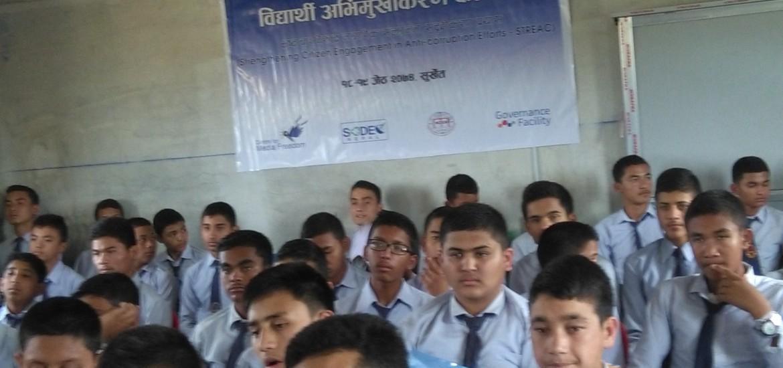 Student Orientation Programme in Surkhet District