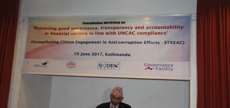 Consultation workshop