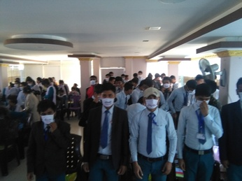 Student orientation programmes held in Dhankuta district