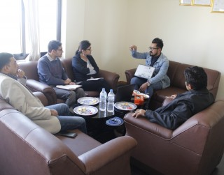 Meeting with Creative Artist on Instructional Materials