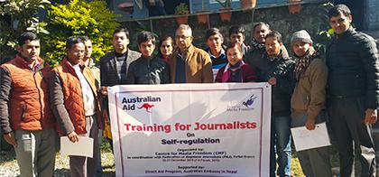 Training for Journalists on Self-regulation