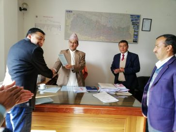CMF hands over UNCAC suggestion booklet to OPMCM Secretary