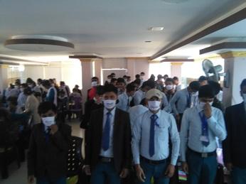 Student orientation programmes held in Dhankuta district