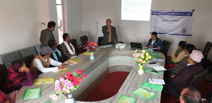 Public interaction programs organized in Sarlahi and Mahottari districts