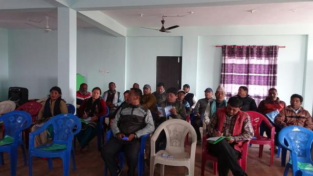 Public Interaction Program in Bagmati Municipality
